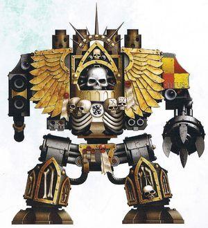 Grifos Aullantes Venerable Dreadnought Confesor Capellan Armand Titus Marines Espaciales Astartes Wikihammer-0.jpg