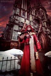 Cosplay sacerdote wikihammer