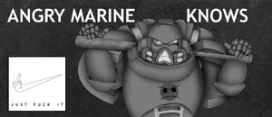 Angry marine knows by grootekloet-d9byiwq