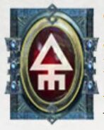 Simbolo eldar runa jain zar y espectros aullantes