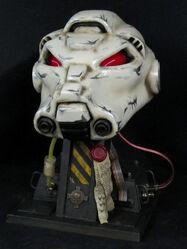 Cosplay casco exterminador