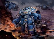 Centurion Devastador Ultramarines