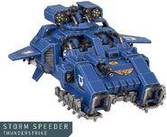Storm Speeder Atronador Miniatura