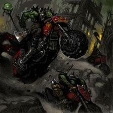 Orkos motoristas zol malvado