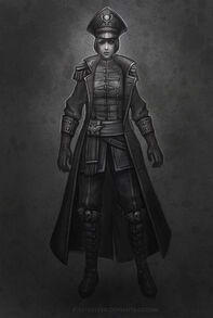 Commissar concept by FirstKeeper