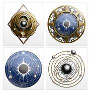 Titanes legio Astorum Logo variantes