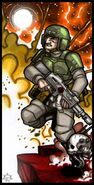 Tarot imperial el soldado