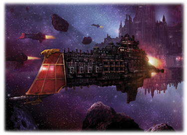 Flota de Batalla Korunus Grifón Crucero Batalla Clase Marte Getsemani Crucero Gotico Sirius Lunar Wikihammer