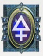 Simbolo eldar runa asurmen y vengadores implacables