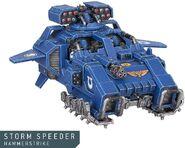 Storm Speeder Martilleador Miniatura