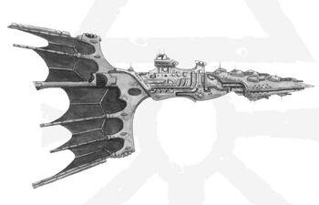 Crucero ligero clase Solaris Eldar BFG ilustración.jpg