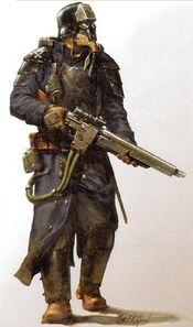 GI korps de la muerte soldado