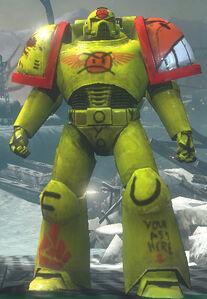 DoW Angry Marine Wikihammer