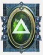 Simbolo eldar runa guardianes defensa