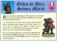 Hermana de Batalla Nuestra Señora Mártir Adepta Sororitas 2ª Edición miniatura