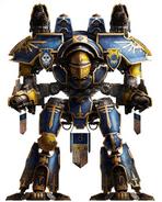 Titanes legio Astorum warlord ira intrepida