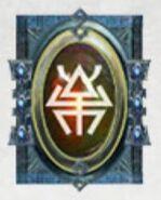 Simbolo eldar runa arañas disformidad