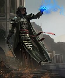 Eldar brujo ulthwe hechizo