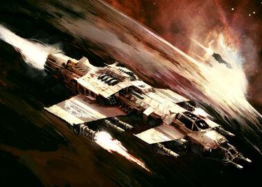 Interceptor Fury Modelo Calixis Cañon Laser Wikihammer
