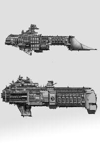 Cliper Estelar Clase Orion Flota Imperial Crucero Monitor Clase Torno Adeptus Mechanicus Wikihammer