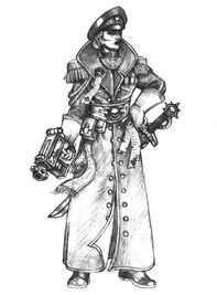 Imperial commissar by LarsRune