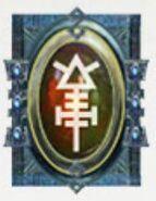 Simbolo eldar runa prisma