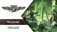 Warhammer 40,000 Mechanicus Release Trailer