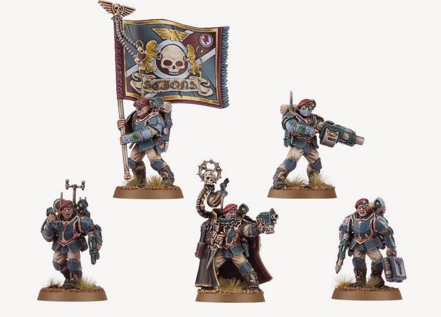 Escuadra de Mando (Militarum Tempestus)