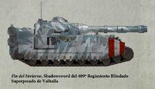 Guardia Imperial tanque superpesado shadowsword valhalla0