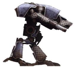 Titán Warhound de la Legio Tempestor