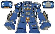 Centurion Asalto Ultramarines Diseño