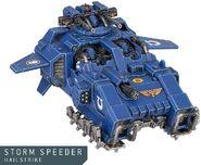 Storm Speeder Granizador Miniatura