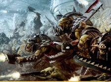 Orkos klan goff ataque