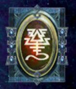 Simbolo eldar runa avatar de khaine