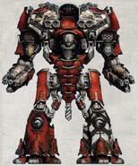 Legio Metalica Doloris Dominus Warmaster Titan