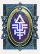 Simbolo eldar runa falcon