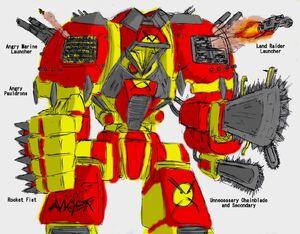 Angry Titan Wikihammer 40K