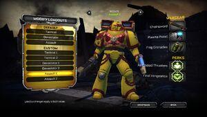 Angry Marine en Space Marine Wikihammer