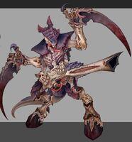 Tyranid warrior 3