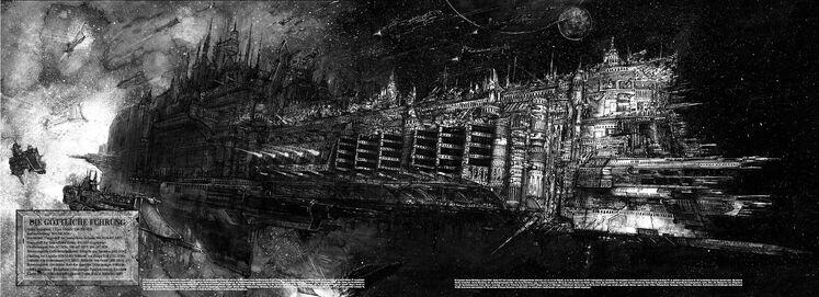 Flota Acorazado Justicia Divina Flota de Batalla Gotica Artemis Wikihammer