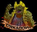 Orkanova orko mascota transparente.png