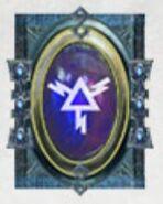 Simbolo eldar runa lanzas brillantes