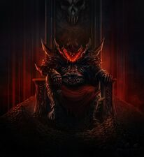 Caos khorne trono de craneos