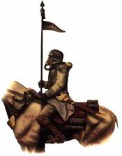 Jinete de la Muerte 261º Krieg Vraks Forge World ilustración