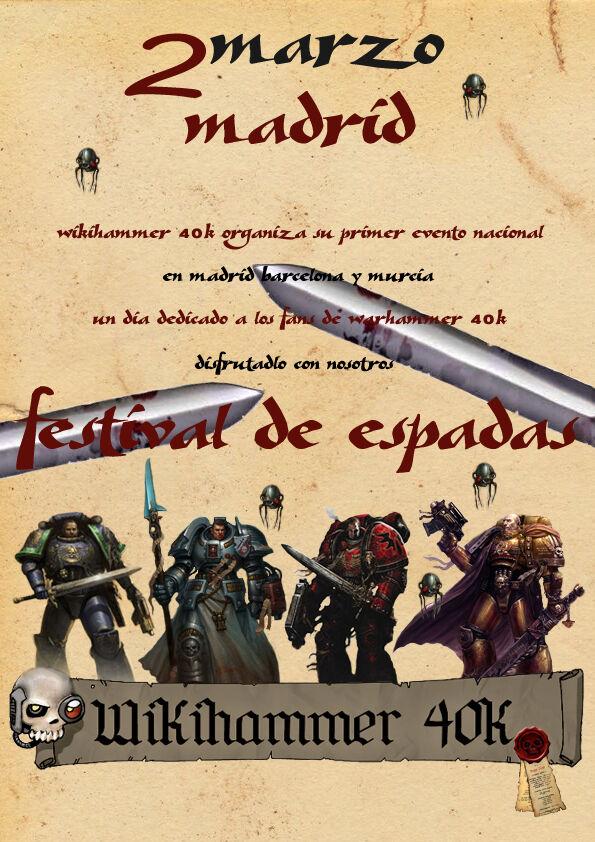 Festival de Espadas Círculo de Terra Wikihammer 40k Torneo Warhammer Games Day 2013.jpg