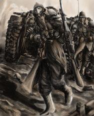 Tropas de los Korps de la Muerte de Krieg
