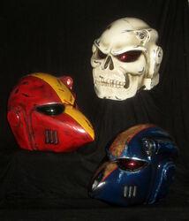Cosplay cascos
