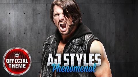 AJ Styles - Phenomenal (Entrance Theme)