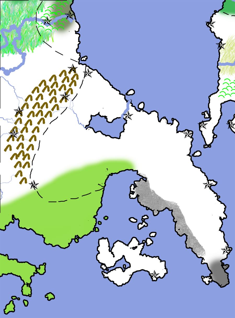 Map of Meridianus