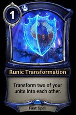 Runic Transformation